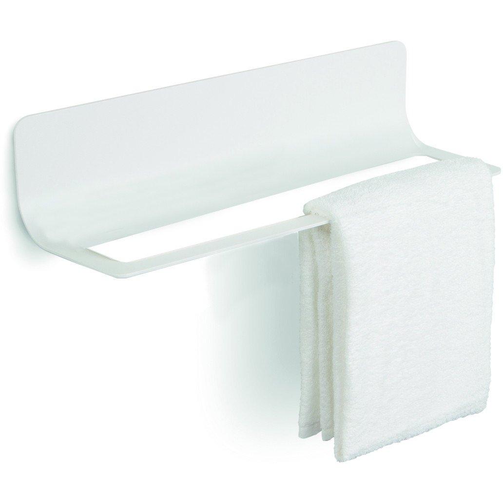 LB Curva Towel Hanging Rack, White, 18.1''