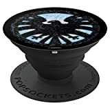 Marvel Avengers Classic Shield Icon - PopSockets Grip and Stand for Phones and Tablets