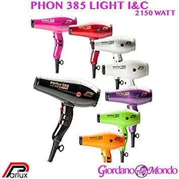 secador 385 Light Los & C secador parlux 2150 W Profesional para peluquería