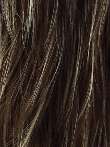 """B00MHVNN6S Medium Top Piece Color Iced Mocha Rooted - Noriko Wigs Hair Topper 8\"""" Length Women\'s Straight Synthetic Volume Crown Fringe 71iWqlDd-LL"""