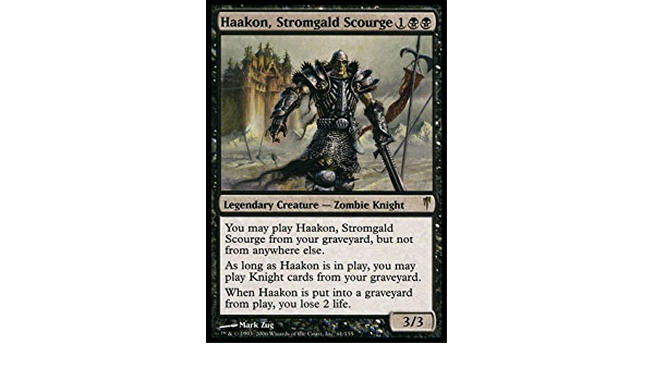 Stromgald Scourge Coldsnap   LP Magic the Gathering MTG Haakon