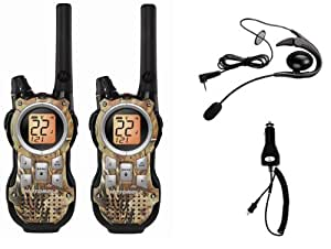 Motorola MR356 TalkAbout 35-Mile 22-Channel FRS/GMRS Two-Way Radio (CAMO)