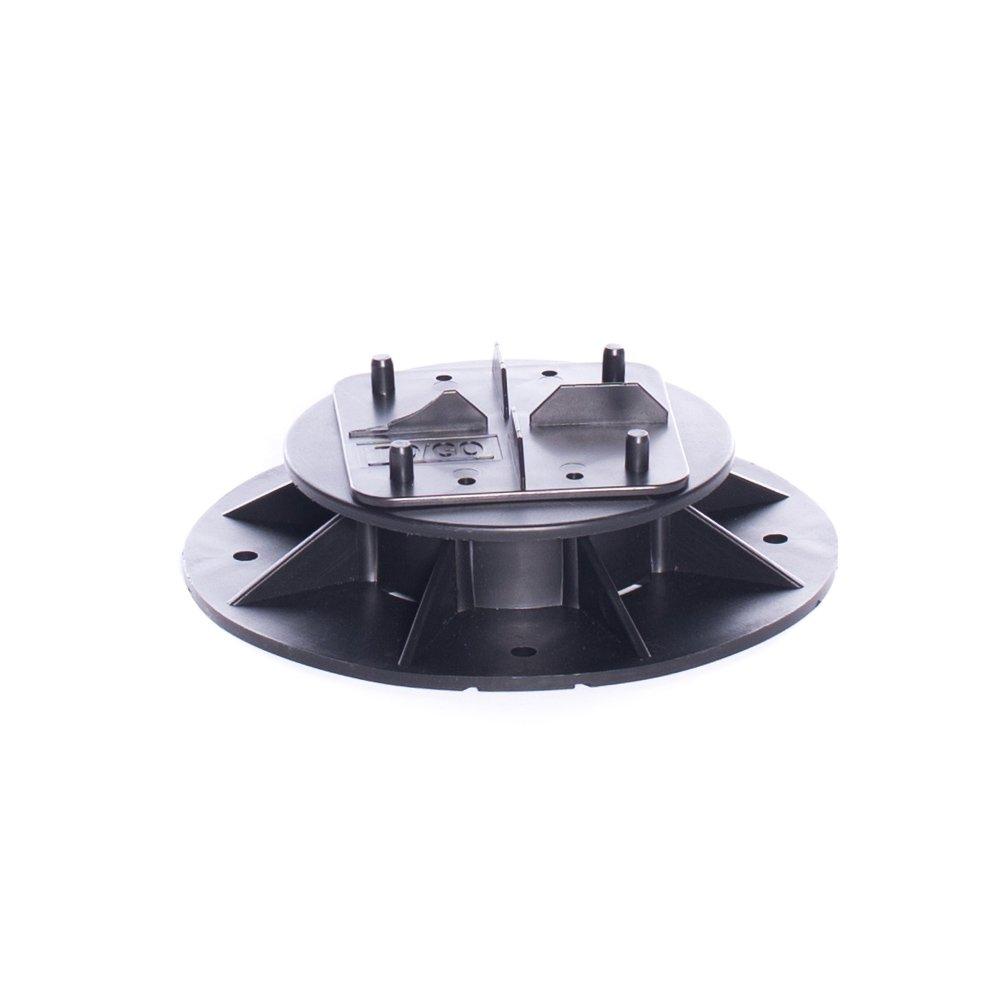 Deck TO GO-S1 (40-55 mm) (1.57''-2.17'') Adjustable Plastic Pedestal TOP TILE CONNECTOR (Pack of 8)
