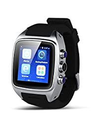Padgene Bluetooth Smart watch NFC IPS Touch Screen Watch Phone Built-in 4GB Memory for Android Smartphones Samsung HTC Sony LG Moto Huawei