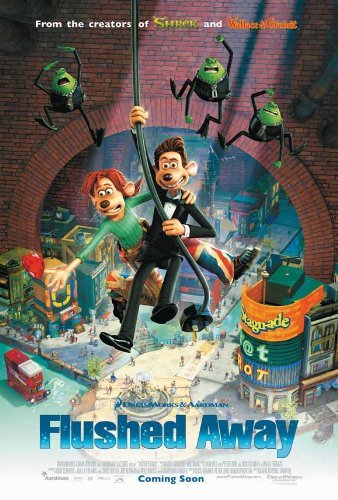 (Flushed Away POSTER Movie (27 x 40 Inches - 69cm x 102cm) (2006) (Style C))