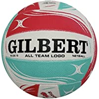 GENUINE Gilbert All Team Logo Netball Size 5 Free Post Superfast Shipping!!