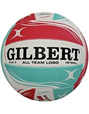 GENUINE Gilbert All Team Logo Netball Size 5 Free Post Superfast Shipping!!
