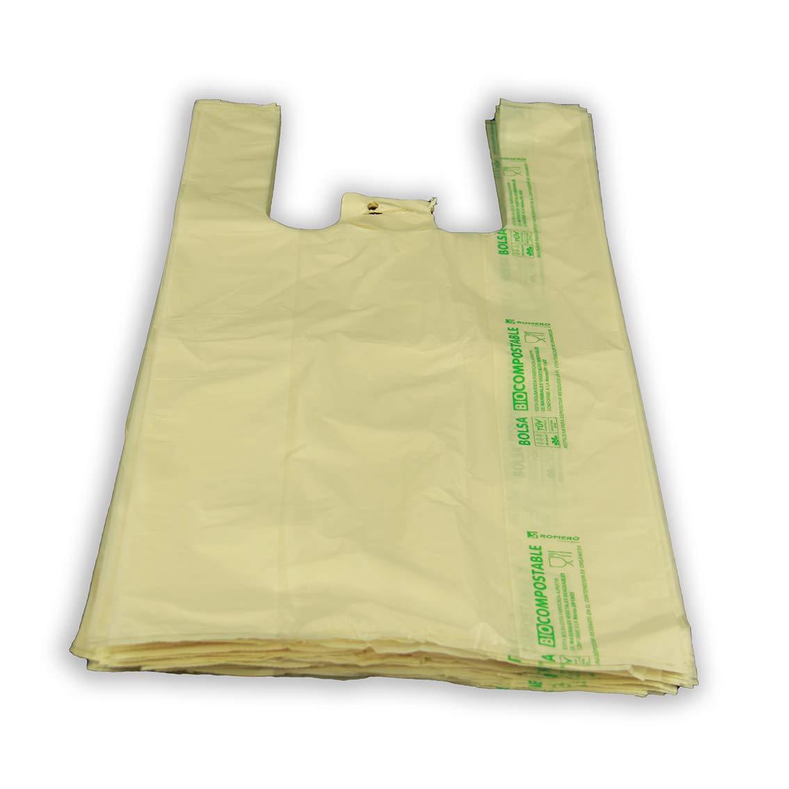 Bolsa Compostable asa camiseta 300x400. Galga 58. Paquete de ...