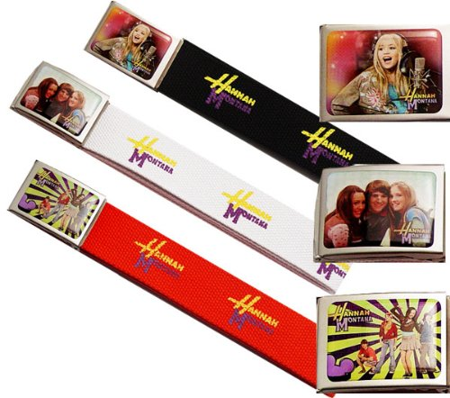 Christmas Super Saving - Hannah Montana Signature Belt with SIX Styles, Will Ship ONE Style Randomly (Disney Hannah Montana Stationery)