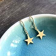 Gold Little Star Earrings
