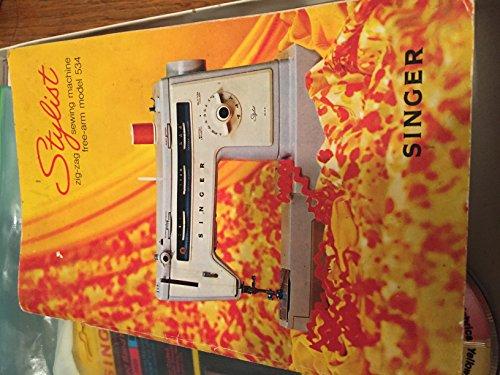 Stylist Zig Zag Sewing Machine Free-Arm Model 534 Zig Zag Chart