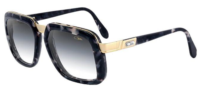 Amazon.com: Cazal 616 90SG Marble Grey Cuadrado anteojos de ...