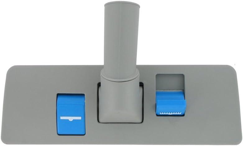 Nilfisk 32 mm Universal Nilfisk Grey Plastic Dual Blue Pedal Floor Tool Nozzle