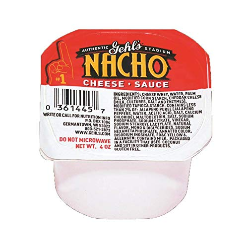 GEHL's, Jalapeno Cheese Sauce Cup 4 oz. (48 Count)