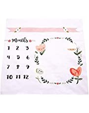 YaptheS Baby Milestones Blanket Photography Props Background Photo Props Track Your Baby's Growth Baby Baby Moonlight Blanket Photography New Mom Baby Shower Gift