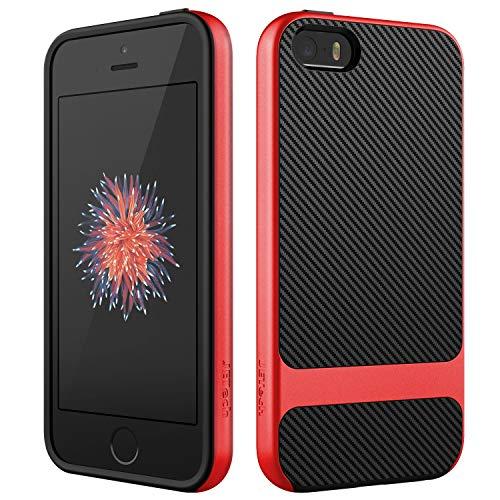 red carbon fiber iphone 4 case - 3