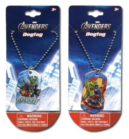 """Avengers 18"""" Metal Dogtag necklace x 2"""