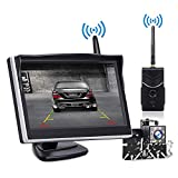 "TOGUARD Digital Wireless Backup Camera Kit, 5"" LCD Monitor + IP69 Waterproof Rear"