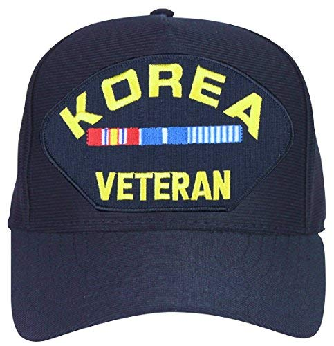 Korea Veteran with Veteran Ribbons Ball Cap