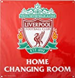 Giftlocaluk Liverpool Football Club, Official 'Home Changing Room' Metal Sign