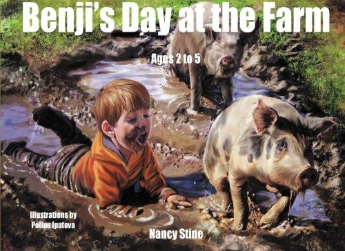 Download Benji's Day at the Farm (Benji and Poppy Books for Children) (Volume 2) pdf epub