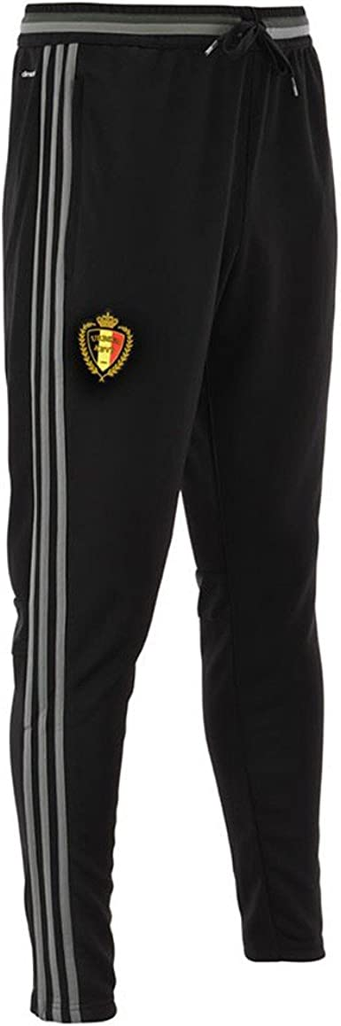 Pavimentación una vez Automático  2016-2017 Belgium Adidas Training Pants Kids, Black, Small Boys 22 inch  Waist - 7/8 Years: Amazon.co.uk: Clothing