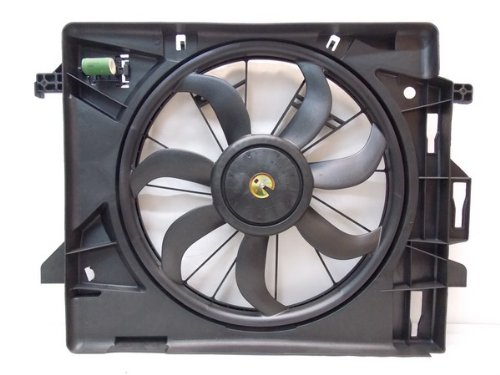 Country Radiator Fan Replacement (RADIATOR CONDENSER COOLING FAN FOR DG FITS CARAVAN TOWN & COUNTRY CH3115157)
