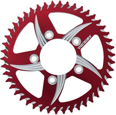 Vortex 527ZR-53 Red 53-Tooth Rear Sprocket