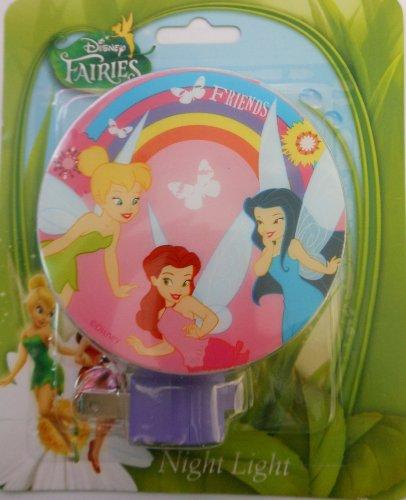 Tinkerbell Disney Night Light (Disney Fairies Night Light (Tinkerbell and Friends))
