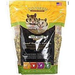 Sunseed Company 36070 1 Piece Vita Prime Dwarf Hamster Formula Food Treat, 2 lb
