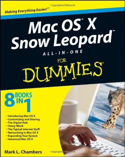 Mac OS X Snow Leopard All-in-One For Dummies by Mark L. Chambers, Publisher : For Dummies