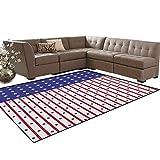 USA%2CRug%2CAmerican Flag with Stars and