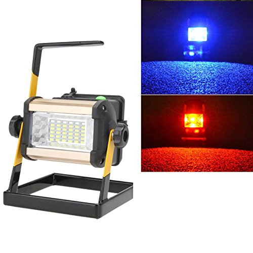 Portable Light- 50w 36led Rechargeable Floodlight Lamp Portable 2400lm Spotlight Flood Spot Work Light Lamps With - Portable Rechargea Spot Flood Light