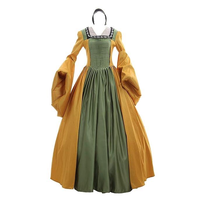 Amazon.com: 1791 de Lady Medieval Renaissance para vestido ...