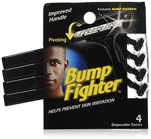 Bump Fighter Mens Disposable Razors, 48 Count (Bumps Razor)