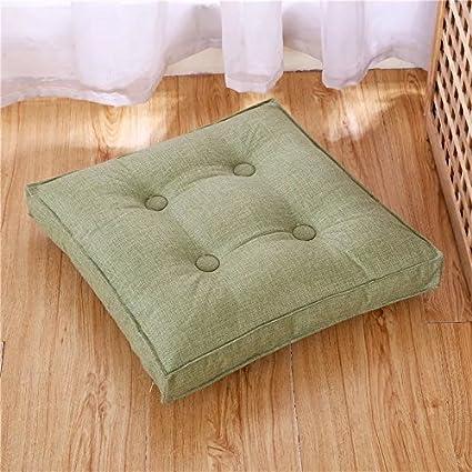 Amazon.com: Hiltow Cotton Linen Floor Pillow Cushion Japanese Style ...