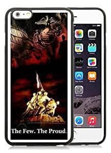 US Marine Corps Black iPhone 6 Plus (5.5) TPU Case,personalized design together with Excellent protection
