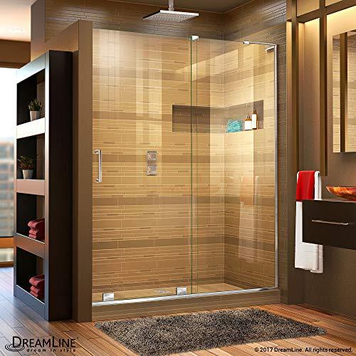 DreamLine Mirage-X 56-60 in. Width, Frameless Sliding Shower Door, 3/8