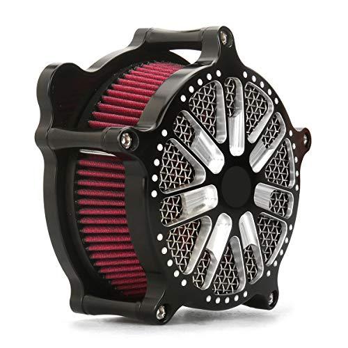 - Black VENTURI AIR CLEANER SLAM XL sportster 883 1200 1991-2019 air filters for harley sportster 48 72