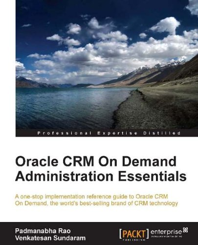 Oracle CRM On Demand Administration Essentials Pdf