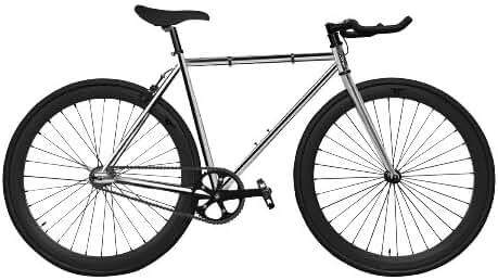Zycle Fix ZF-DIA2-55 Diamond II Fixed Gear Bike, 55cm/One Size Frame