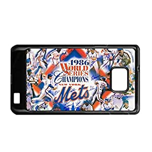 Print With New York Mets Creativity Back Phone Case For Boy For S2 I9100 Galaxy Samsung Choose Design 4