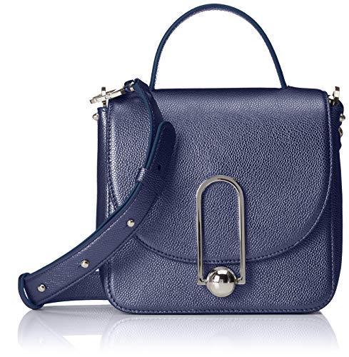 HUGO Women's Uptown S T. Handle-l Baguette Blue (Open Blue)
