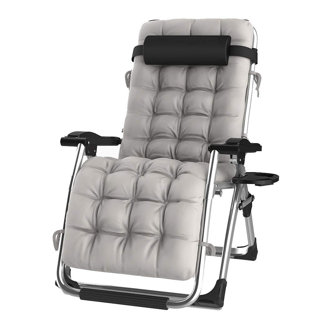 Colore : Chair Heavy Duty Textoline Sedie a Sdraio a gravit/à Zero Sedie Pieghevoli reclinabili Sedie a Sdraio per Esterni da Giardino Regolabili