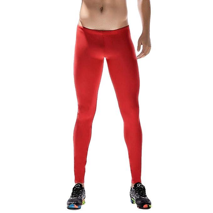 Zoilmxmen Mens Base Layer Training Pants, Men Running Tights ...