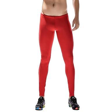 Koly Hombre Pantalones de Compresión Mallas Secado Rápido ...