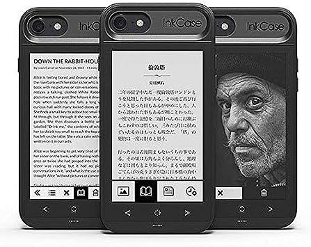 Oaxis Inkcase i7, E-Ink Second Screen Case para iPhone 7, no sólo ...
