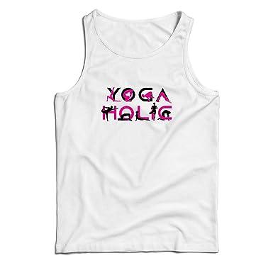 lepni.me Camisetas de Tirantes para Hombre Yoga Holic ...