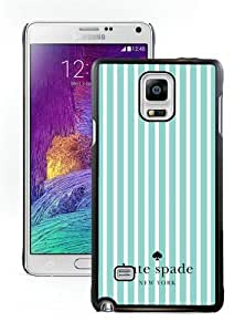 DIY Hot Sale Samsung Galaxy Note 4 Case,Kate Spade 25 Black New Design Samsung Galaxy Note 4 Phone Case