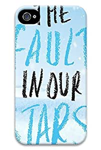 Online Designs fault in our stars embrace winter PC Hard new case for iphone 4 / 4s